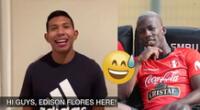Edison Flores y Luis Advíncula captaron la atención en las redes sociales.
