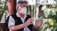 Presidente Francisco Sagasti ofreció conferencia de prensa tras escándalo de vacunación.