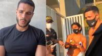 Mario Irivarren arrepentido tras faltar respeto a la policía.