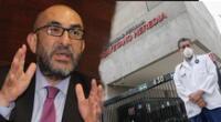 Elmer Huerta indignado con actuar de Málaga tras vacunación.