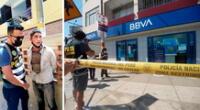 Delincuentes fueron detenidos luego de una intensa persecución en las calles de San Martín de Porres.