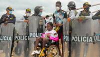 El Gobierno de Jair Bolsonaro autorizó este jueves el uso de las Fuerzas Armadas en la frontera entre Brasil y Perú. | Foto: Radio Madre de Dios / AFP