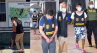 Los detenidos trasladados a la sede policial