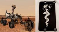 Conoce los inusuales objetos que Perseverance llevó a Marte | Foto: NASA/composición EP