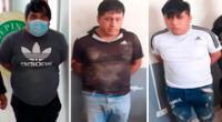 Según la PNP, los delincuentes amenazaron a su víctima con armas de fuego para robarle dinero y otras pertenencias dentro de un restaurante.