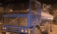 camión impacta sobre viviendas