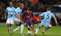 Messi sigue en la orbita del Manchester City.