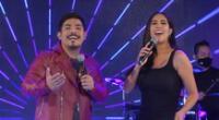 Melissa Paredes y Erick Elera