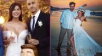 Xoana González bromeó con el parecido de su vestido de novia con el de Ivana Yturbe.