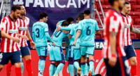 Atlético sufrió un derrota de local y puso el torneo español, emocionante.