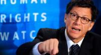 El director ejecutivo para las Américas de la organización Human Rights Watch, José Miguel Vivanco.