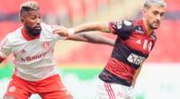 Inter empezó ganando pero luego Flamengo reaccionó y dió vuelta al partido.