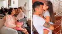 Rodrigo Cuba le da tierna sorpresa a su hija Mia.