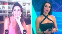 Rosángela Espinoza se indigna por perder frente a Luciana Fuster.