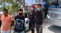 Capturan a delincuentes en Surco.