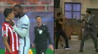 Peculiar imagen en el Atlético de Madrid vs Chelsea se viralizó en las redes sociales.