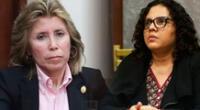 Junta Nacional de Justicia abre proceso disciplinario a fiscales Sandra Castro y Rocío Sánchez.