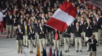 Deportistas peruanos en ceremonia de apertura de los Juegos Panamericanos 2019 | Foto: AFP