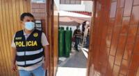 PNP intervino 46 balones de dudosa procedencia. Una persona fue detenida.