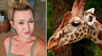 """Merelize Van Der Merwe se defendió diciendo que la muerte de la jirafa """"creó trabajo para 11 personas ese día"""" y """"mucha carne para los lugareños""""."""