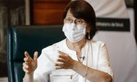 Como se recuerda, Pilar Mazzetti, exministra de Salud, se vacunó fuera de los ensayos clínico.