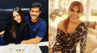 Magaly Medina se unió a lo dicho por Rodrigo González en Amor y fuego, y confirmó el embarazo de Natalie Vértiz