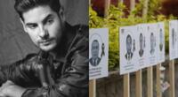 El actor Andrés Wiese se acercó al local del Colegio Médico del Perú, y compartió algunas imágenes del personal que falleció durante la pandemia.