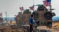 El Pentágono reveló que las fuerzas militares de Estados Unidos lanzó ataques aéreos.