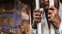 Dictan prisión contra chofer de camión cisterna Ronal Cóndor Dávila que mató a una niña
