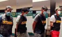Los detenidos fueron identificados como Freddy Salvador (23), Leonardo Suarez (31),Henry Rodríguez (22), Gabriel Reales (22)