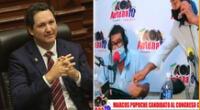 Daniel Salaverry cuestionó a Marcos Sánchez, aspirante al congreso por Tumbes