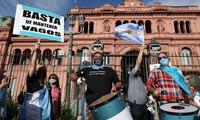 Las calles de Buenos Aires se convirtieron este sábado en epicentro de las protestas contra el Gobierno.