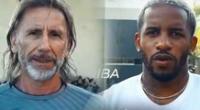 Ricardo Gareca y Jefferson Farfán se unen para enviar mensaje.