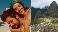 """Evaluna y Camilo estrenaron canción """"Machu Picchu""""."""