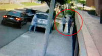 Ladrones utilizaron auto que fue robado hace una semana.