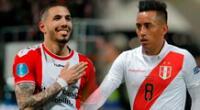 Sergio Peña y Christian Cueva llegan en buen momento a la selección.