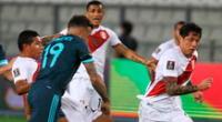 Perú solo lleva un punto en las Eliminatorias Qatar 2022.