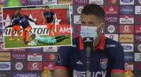 Beto da Silva ingresó en el segundo tiempo del César Vallejo vs Caracas FC por Copa Libertadores.