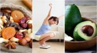 Aliméntate bien y consume alimentos que te aporten energía.