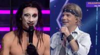 Mike Bravo, imitador de Mariln Manson, advirtió que irá tras Mariano Gardella, el imitador de Jon Bon Jovi, para llegar a la final de Yo Soy.