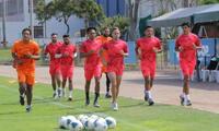 Ayacucho FC sigue trabjando y aún no sabe donde jugará la Copa Libertadores.