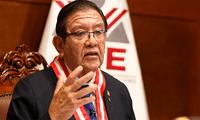 Presidente del Jurado Nacional de Elecciones (JNE), Jorge Luis Salas Arenas