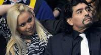Diego Maradona y Verónica Ojeda tuvieron un hijo, el último del Pelusa.