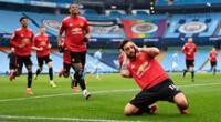 Manchestter City vs. Manchester United: gol de Bruno Fernández.