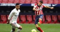 Simeone, técnico del Atlético piensa que debieron ganar al Real Madrid.