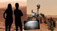Podrás escoger los fondos disponibles para tus fotos en Marte.