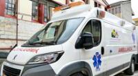 Acalde conduce ambulancia de centro médico para salvar la madre de su hijo.