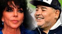 Diego Maradona y Verónica Castro salieron en más de una ocasión, contó Ojeda.