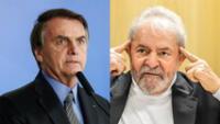 """Lula da Silva, de 75 años, dijo que Bolsonaro """"no fue nada en su vida"""" y que la COVID-19 """"está tomando cuenta de este país""""."""