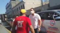 Daniel Salaverry fue insultado por ciudadano venezolano.